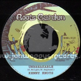"Roots Garden-7""-Unbreakable / Kenny Knots + Tek Caution / Bob Skeng"