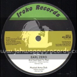 "Iroko Records-12""-And God Said To Man + None Shall Escape The Judgement / Earl Zero"