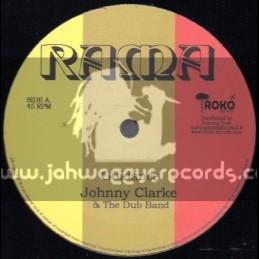 "Iroko Records(RAMA)-12""-Guidance / Johnny Clarke + Protection / The Dub Band Feat. John Kpiaye"