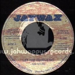 "Jaywax-7""-Let The People Go / Ras Midas"