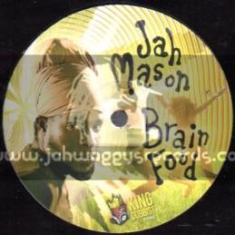 "King Dubbist-12""-Brain Food / Jah Mason + I m Flying / Zacharri"