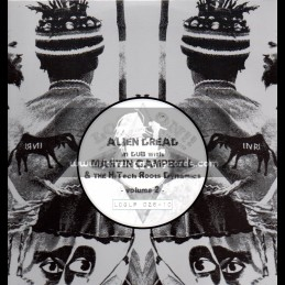 """Log On-10""""Lp-Alien Dread In Dub With Martin Campbell & The Hi Tech Roots Dynamics-VOL-2"""