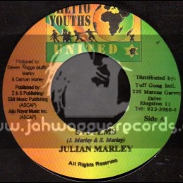 """Ghetto Youths-7""""-Systems / Damian Marley"""