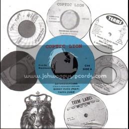 """Coptic Lion-7""""-Satamassagana / Bunny Rugs Feat Tappa Zukie"""