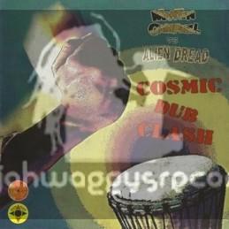 "Log On-10""Lp-Cosmic Dub Clash / Martin Campbell Vs Alien Dread"