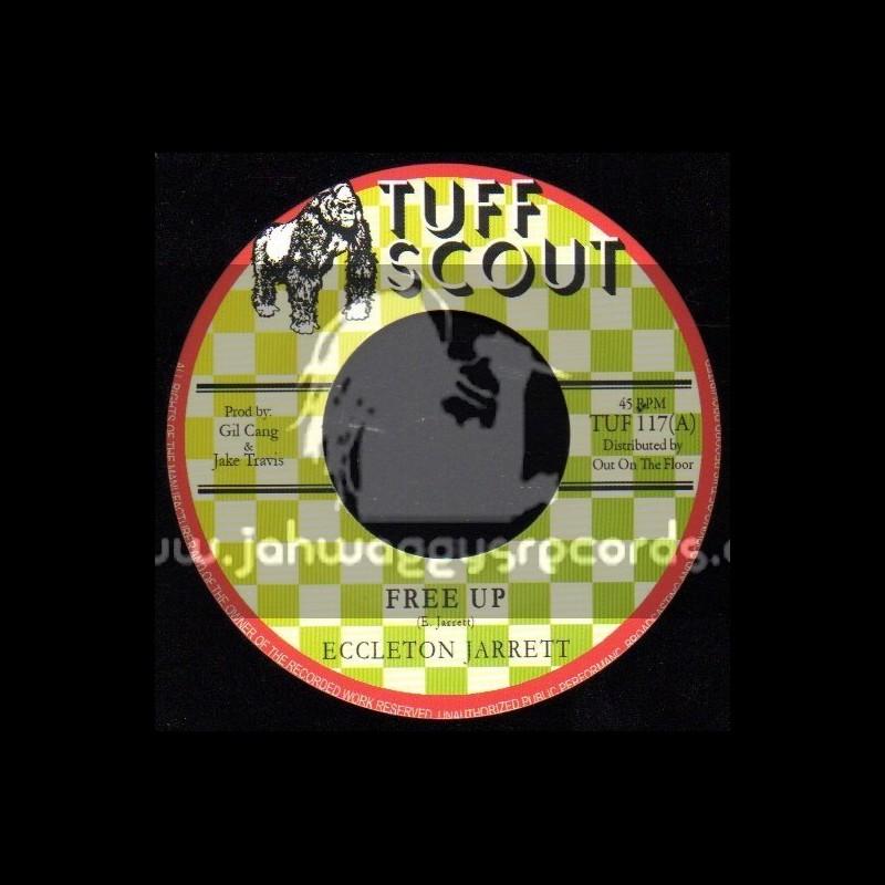 """Tuff Scout-7""""-Free Up / Eccleton Jarrett"""