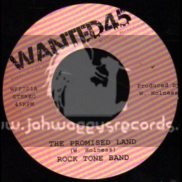 """Wanted 45-7""""-The Promised Land / Rock Tone Band"""