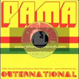 "Pama Outernational-7""-Eqality & Dub For All / Pamaint v Wrongton"