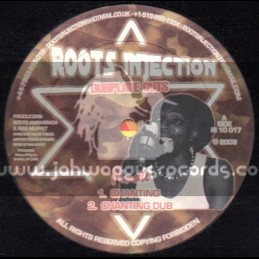 """Roots Injection-10""""-Chanting / Finote + Go Down Babylon / Sammy Gold"""
