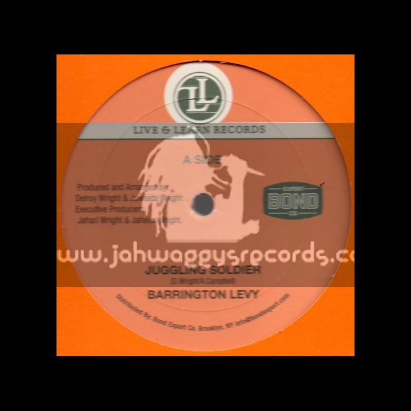 """Live And Learn Records-12""""-Juggling Soldier / Barrington Levy"""