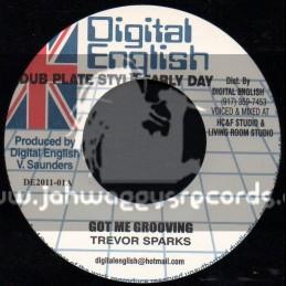 """Digital  English-7""""-Got Me Grooving / Trevor Sparks"""