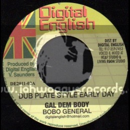 "Digital  English-7""-Gal Dem Body / Bobo General"