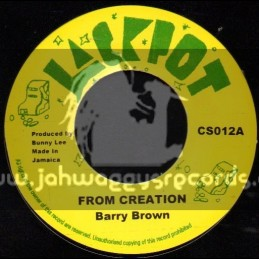 """Jackpot-7""""-From Creation / Barry Brown"""