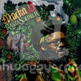 Necessary Mayhem-LP-Rasta Soldier / Macka B