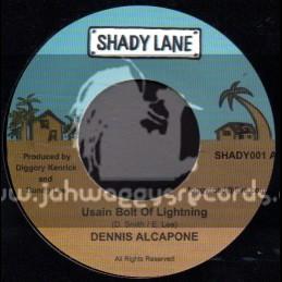 "Shady Lane-7""-Usain Bolt Of Lightning / Dennis Alcapone"