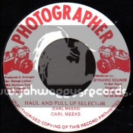 """Photographer-7""""-Haul And Pull Up Selector / Carl Meeks"""