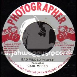 "Photographer-7""-Bad Minded People / Carl Meeks"