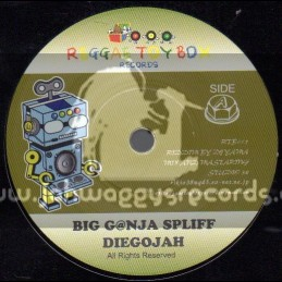 "Reggae Toy Box Records-7""-Big Ganja Spliff / Diegojah"