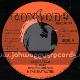 "Coxsone Records-7""-Cleopatra/Don Drummond + I Mean It/Roy & Tiny"