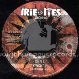 """Irie Ites Records-7""""-Hypocrites / Sizzla + Dubplate Spillin / Deadly Hunter"""