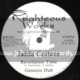 "Righteous Works-12""-Revelation Time / Jahfa Culture + Rastamans Last Stand / Dairy Dub Feat. I David"