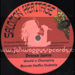 "Salomon Heritage-12""-World Is Changing / Prince Jamo + Praise Him / Messenger Douglas"