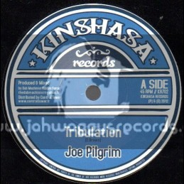 "Kinshasa Records-7""-Tribulation / Joe Pilgrim"