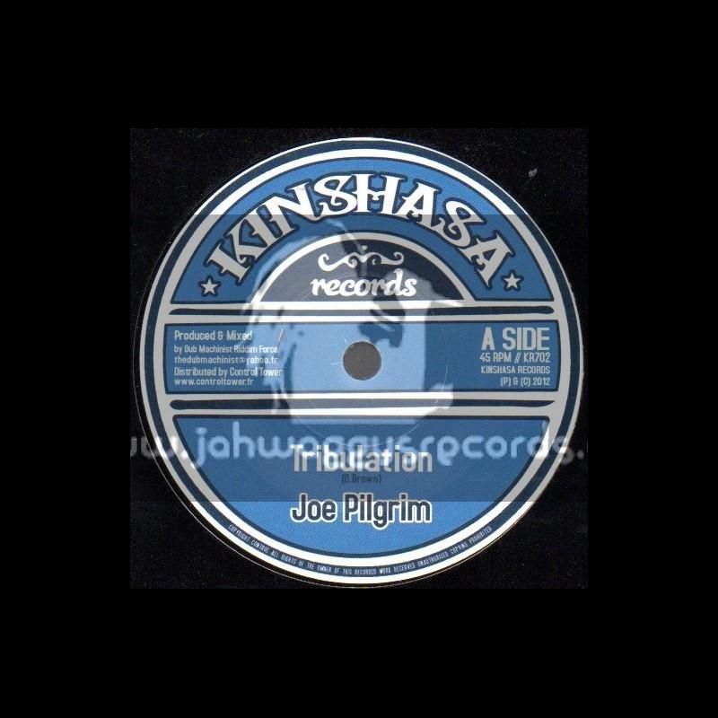 "Kinshasa Records-7""-Tribulation / Joe Pilgrim"