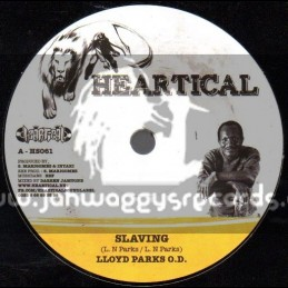 "Heartical-7""-Slaving / Lloyd Parks O.D + Mental Slavery / Joseph Cotton"