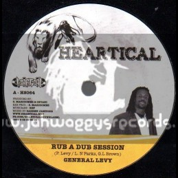 "Heartical-7""-Rub A Dub Session / General Levy"
