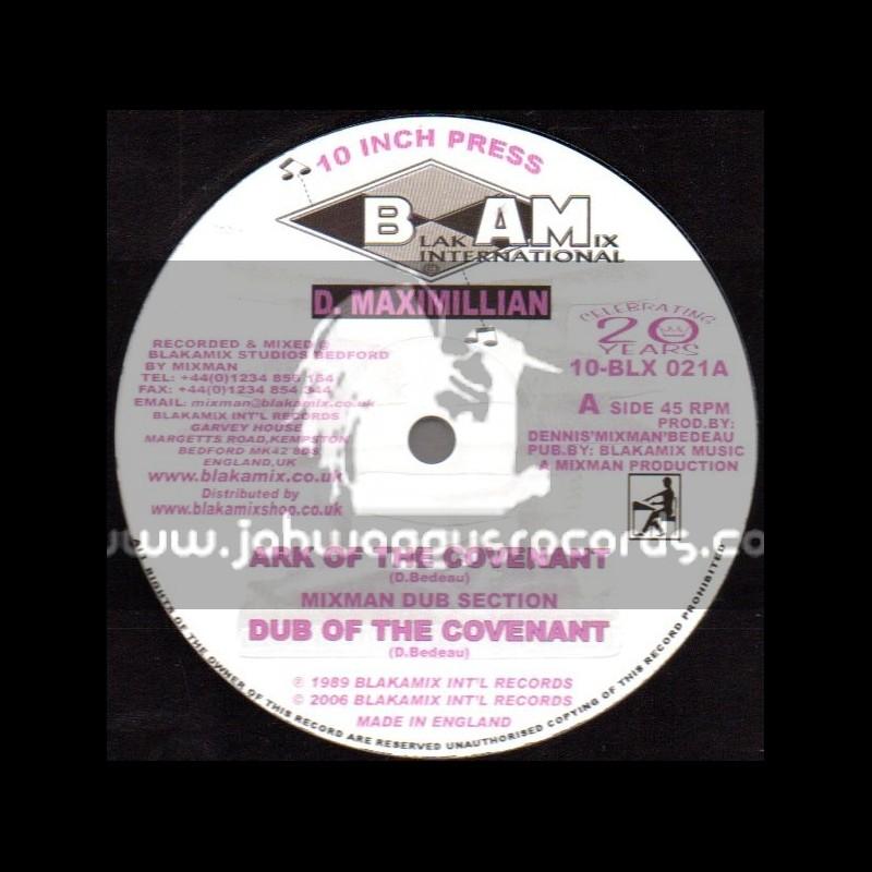 "Blakamix International-10""-Ark Of The Covenant + Give Jah Praise / D Maximillion"