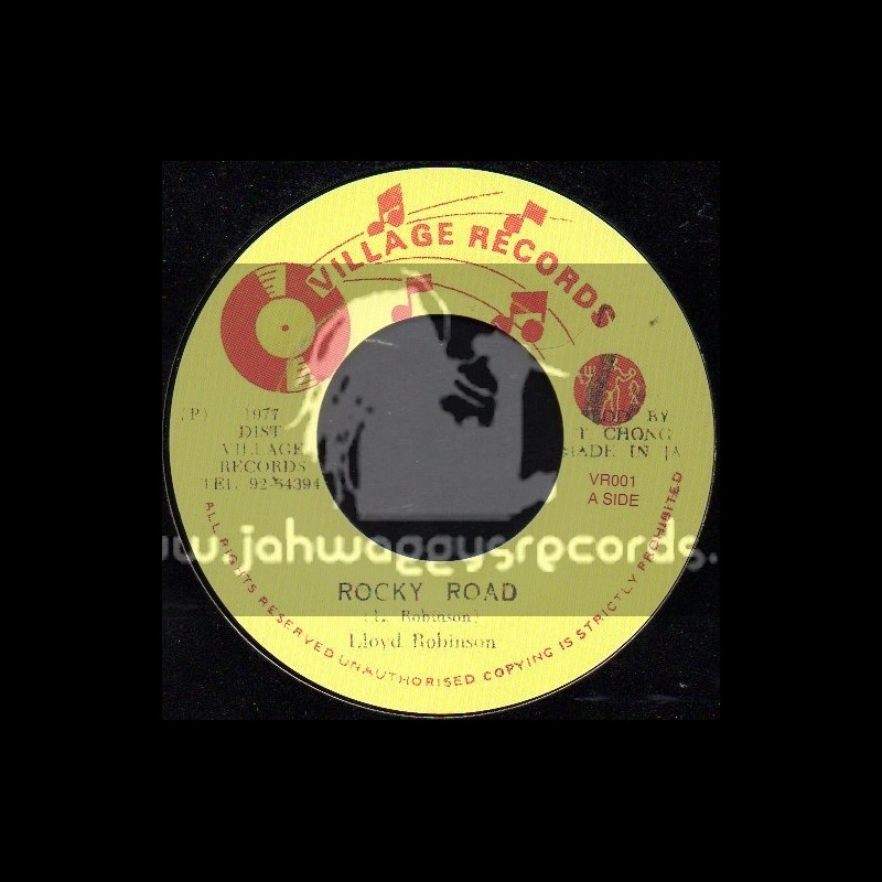 "Village Records-7""-Rocky Road / Lloyd Robinson"