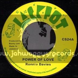 "Jackpot-7""-Power Of Love / Ronnie Davis"