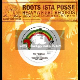 "Roots Ista Posse(Congo Music Works Int l)-10""-Raw Fisherman/Ras Mykha"