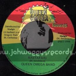 "Queen Omega Records-7""-Rastafari/Queen Omega Band"