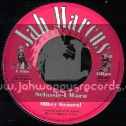 "Jah Marcus Recordings-7""-Selassie-I Warn / Mikey General"