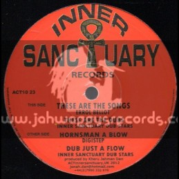 """Inner Santuary Records-10""""-These Are The Songs / Errol Bellot"""