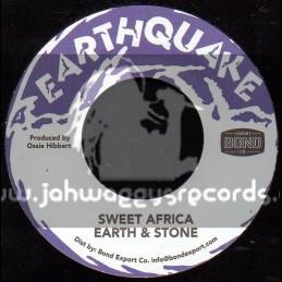 """Earthquake-7""""-Sweet Africa / Earth & Stone"""