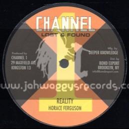 """Channel 1-10""""-Reality + Youthman / Horace Ferguson"""