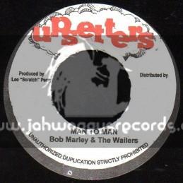 "Upsetters-7""-Man To Man / Bob Marley & The Wailers"