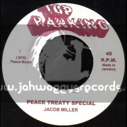 """Top Ranking-7""""-Peace Treaty Special / Jacob Miller"""