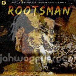 "Log On-10""Lp-Rootsman / Martin Campbell"