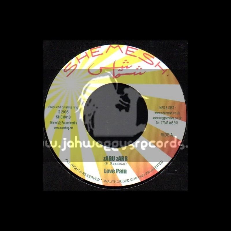 "Shemesh-7""-Love Pian / Zagu Zarr + Hash Is Hash / Fireocious"