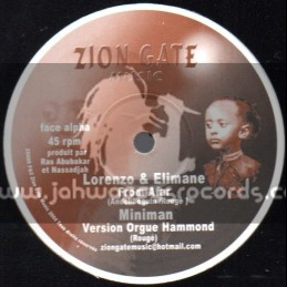 "Zion Gate Music-12""-From Afar / Lorenzo & Elimane"