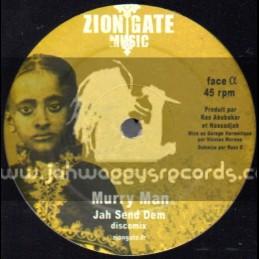 "Zion Gate Music-12""-Jah Send Dem / Murray Man"