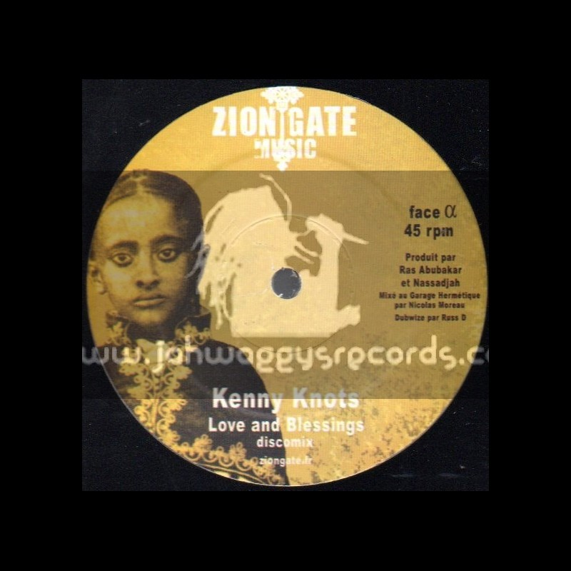 """Zion Gate Music-12""""-Love And Blessings / Kenny Knots"""