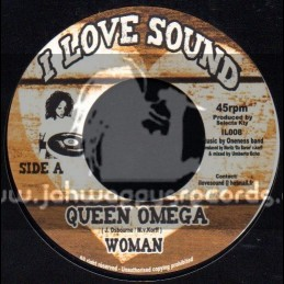 """I Love Sound-7""""-Woman / Queen Omega + Enough / Tamika"""