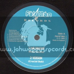 """Fat Man Records-10""""-Mr Vincent / Black Crucial + See Them Go / Leroy Smart"""
