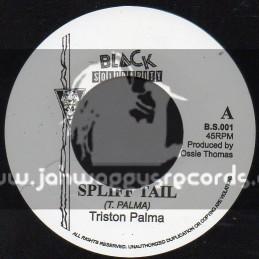 "Black Solidarity-7""-Spliff Tail / Triston Palma"