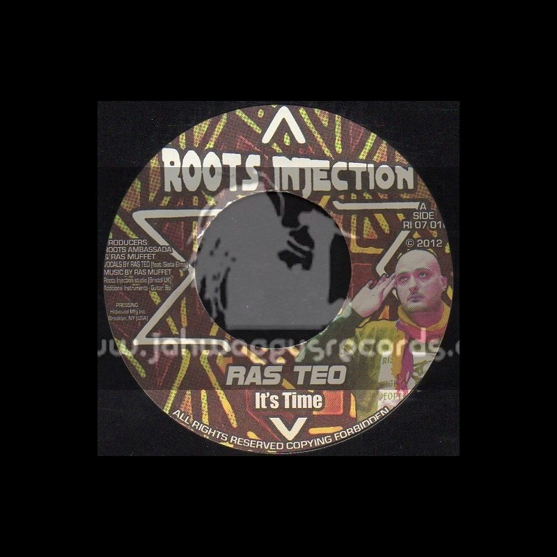 """Roots Injection-7""""-Its Time / Ras Teo"""